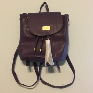 Handbags - Purple Monat backpack purse
